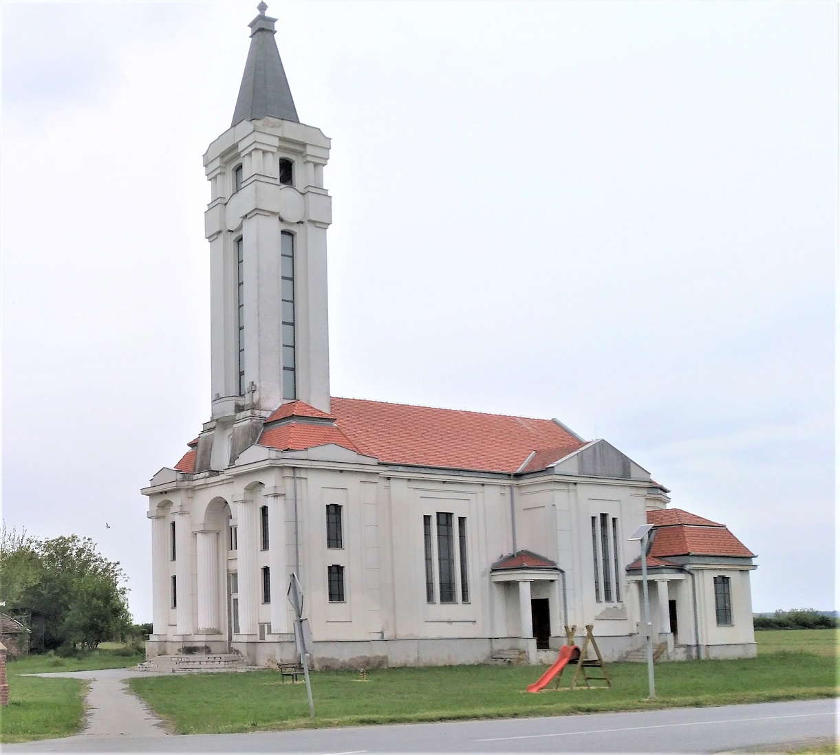Crkva Uzvišenja Svetog Križa, Krndija